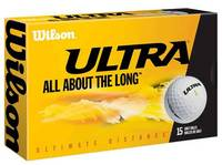 Ultra Ultimate Distance Golfball mit Werbung