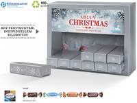 Adventskalender Exquisit Miniatures Mix mit Werbedruck