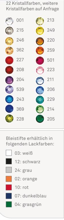 e9951df8b87e Schmuckbleistifte (Kristall, Magnet, Glamour, etc.) - Swarovski ...